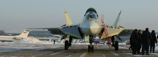 俄罗斯五代机T50飞机静止图